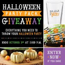 halloween party packs halloween giveaway the perfect party pack kate aspen blog