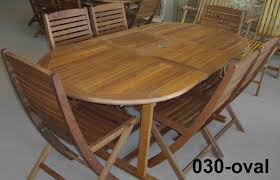 Patio Furniture Clearance Toronto by Teak Wood Patio Outdoor Furniture Patio Table Set