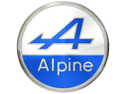 sports car logos alpine car logo