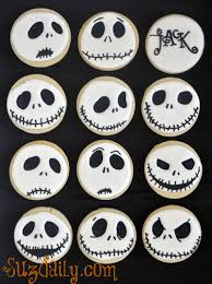 nightmare before christmas halloween decorations how to make a jack skellington cookie u2013 how to make a nightmare