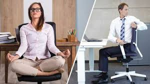 Yoga At The Office Desk 13 Chair Yoga Poses To Do While Sitting At Your Desk