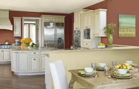 gray and yellow kitchen