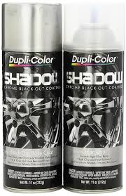 amazon com dupli color shd1000 shadow chrome black out coating