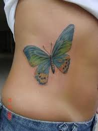 butterfly tattoos on the buttocks tattoos on buttocks