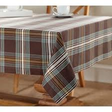 pottery barn plaid tablecloth polyvore thanksgiving