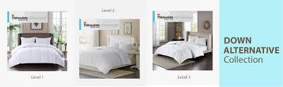 amazon com sleep philosophy level 2 warmer 3m thinsulate down