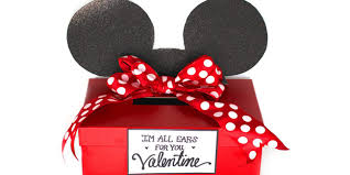 Valentine S Day Box Decorating Ideas by Mickey And Minnie Mouse Valentine Card Box Free Printable