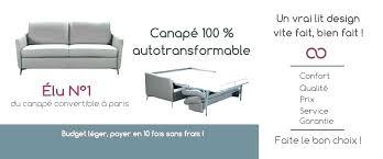 canapé lit qualité canap convertible haute qualit simple canape de bonne qualite