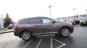 nissan pathfinder youtube 2015 2015 nissan pathfinder sl java metallic fc612484 kent