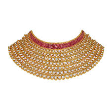 choker necklace store images Choker gold necklace designs polki choker necklace design jpg