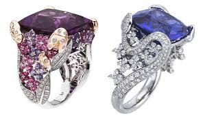 gaudy engagement rings wear your style with awesome cocktail rings