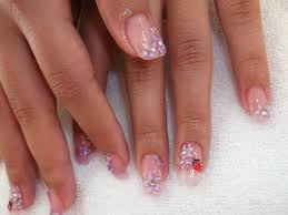 gel nail designs with glitter glitter lynth gel with 3d nail
