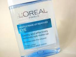 l 39 oreal gentle eye makeup remover