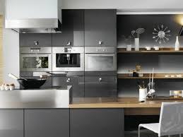 cuisines grises cuisine gris anthracite 56 idées pour une cuisine chic et moderne