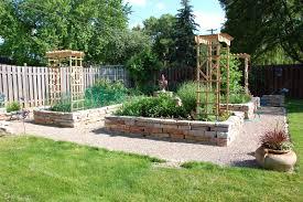 raised vegetable garden border ideas the garden inspirations
