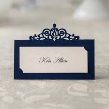 what size are table number cards 24 pcs blue paper table number card name card place card holder for