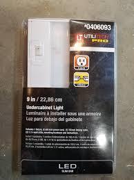 utilitech pro led under cabinet lighting utilitech pro undercabinet led light slim bar 9