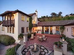 santa barbara style home plans spanish style homes for american dream builders fans