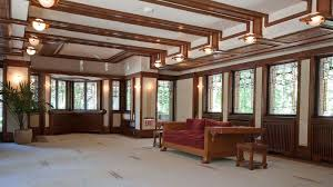 interior where is frank lloyd wright home falling water located