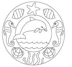 coloriage à dessiner magique a imprimer dauphin