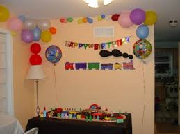 Simple Birthday Decoration Ideas At Home Birthday Decoration For Wall Image Inspiration Of Cake And