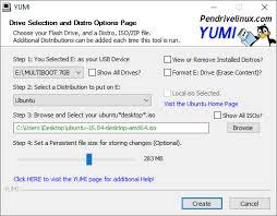 format as fat32 ubuntu yumi multiboot usb creator usb pen drive linux