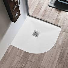 piatto doccia pietra piatto doccia semicircolare marmoresina 3 cm con piletta sifonata