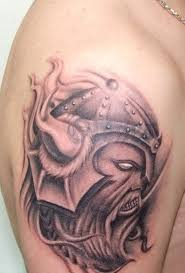 55 stylish viking shoulder tattoos