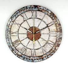Decorative Clock Lcd Wall Clock Oversized Wall Clock Family Clock Family Name Clock