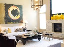 Yellow Livingroom Adorable 10 Living Room Designs Black And Cream Inspiration