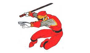 draw red ranger storm