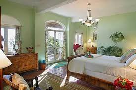 Caribbean Style Bedroom Furniture This Green 1940 House Pinterest Green Walls Decorating