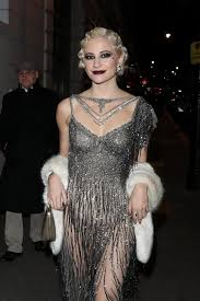 pixie lott celebrates her birthday in style with raunchy sheer