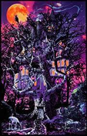 Blacklight Rugs Amazon Com Moonlit Pirate Ghost Ship Blacklight Poster Art Print