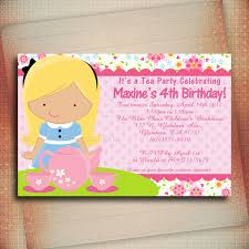 14th birthday party invitations tea party invitation wording u2013 gangcraft net