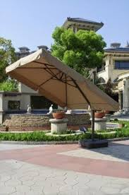 Offset Patio Umbrella With Base Sunbrella Cantilever Patio Umbrella Foter
