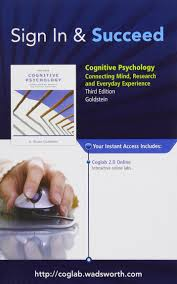 coglab manual with printed access card for cognitive psychology
