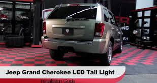 2016 jeep cherokee tail lights spyder auto installation 2005 06 jeep grand cherokee led tail