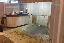 basement sewage cleanup in your home