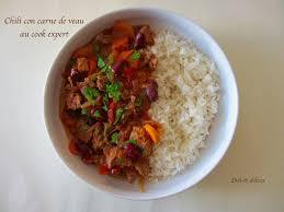 activité manuelle cuisine chili con carne de veau au cook expert recettes cook expert