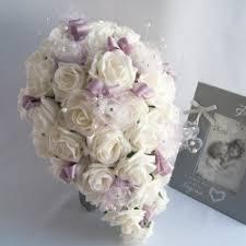 Silk Bridal Bouquets Silk Wedding Bouquets Rosie Silk Flowers