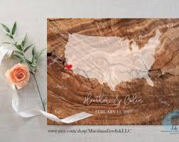 Wedding Gift Destination Wedding Wedding Map Guest Book Alternative Destination Wedding Guest