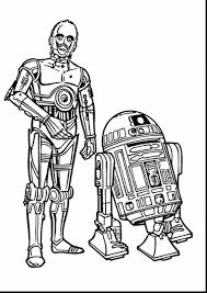 brilliant star wars coloring pages with r2d2 coloring page