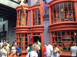 halloween and harry potter at universal studios with teens