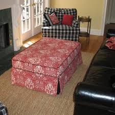 furniture awesome ottoman slipcover for your furniture ideas