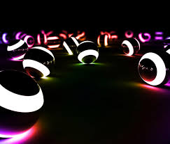 glow balls glowing pool balls i would to find these keep your eye out