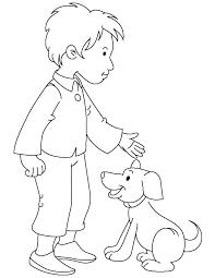 boy puppy coloring download free boy puppy
