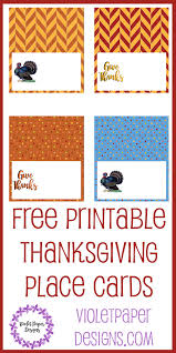 free printable thanksgiving place cards violet paper designs