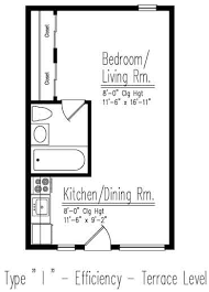 Efficiency Apartment Floor Plans Efficiency Apartments In Westchester County Ny