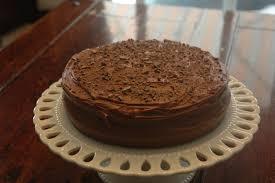 chocolate cake recipe in english
